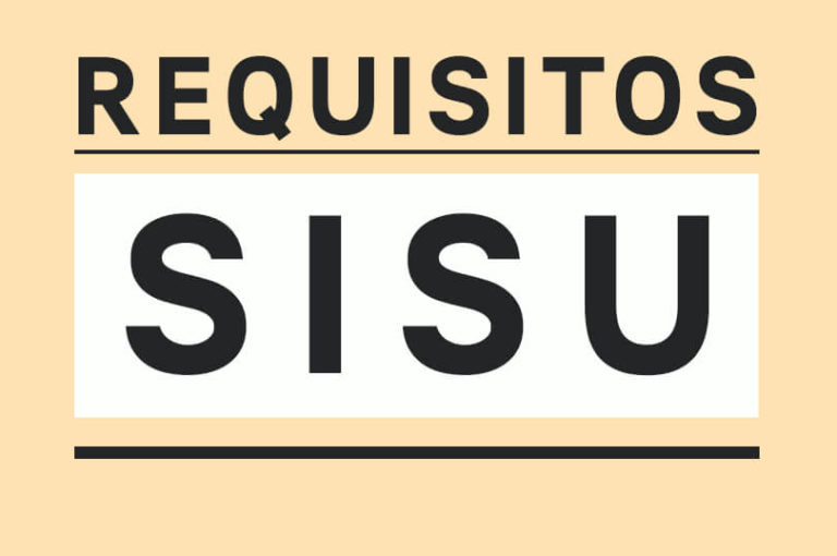 Requisitos SISU 2022